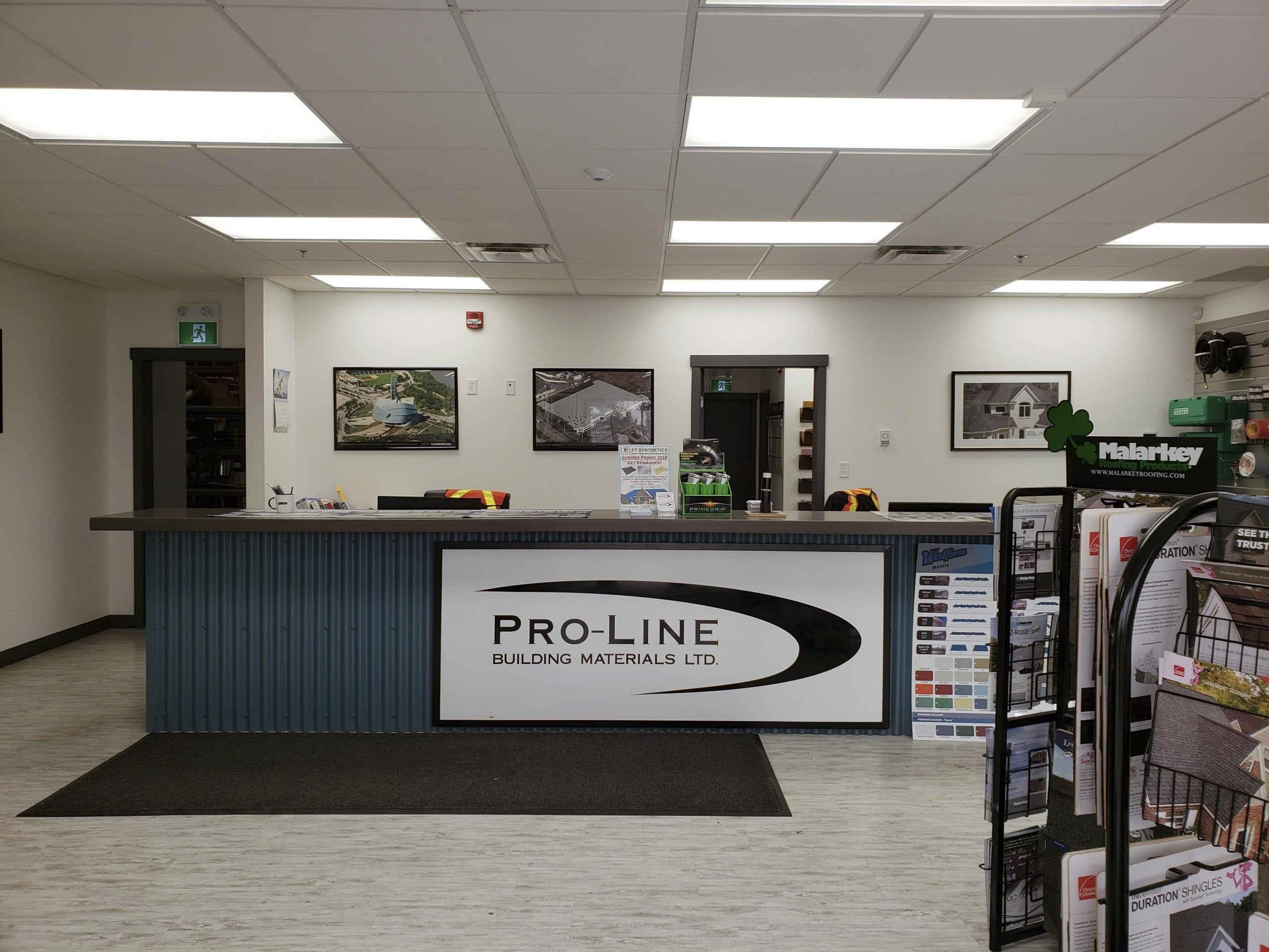 proline building construction materials interior image