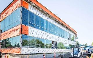 Regional District Office Pro-line Construction materials building